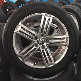 VW Scirocco R Wheels (Original)