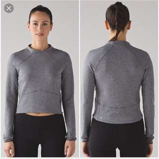 Lululemon Hill and valley mock neck