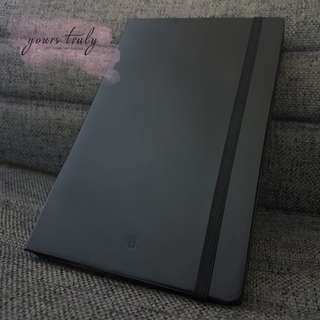 Personalised Name/Initial Leather Notebook [Customised]
