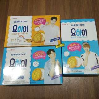 LOTTE WANNA ONE YO-HI YOGURT BISCUIT