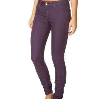 Riders Bumster Vegas Purple Jeans - Size 10