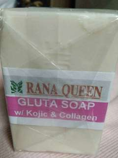 Gluta soap with kojic and collagen