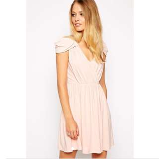 ASOS Light Peach Dress
