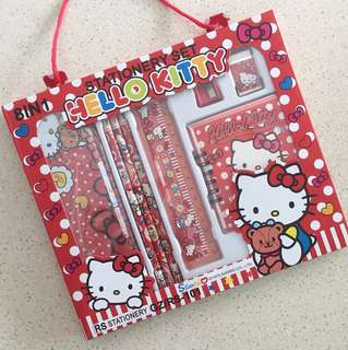🆕 Hello Kitty 8in1 Stationery Set