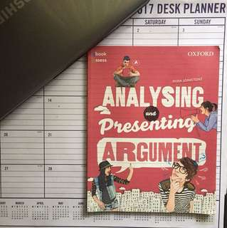 Oxford Analysing and Presenting Argument textbook