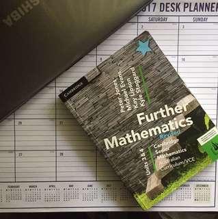 Cambridge VCE Further Mathematics Units 3&4