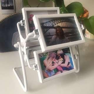 Carousel photo frame