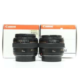 Canon EF 50mm f1.4L USM Lens