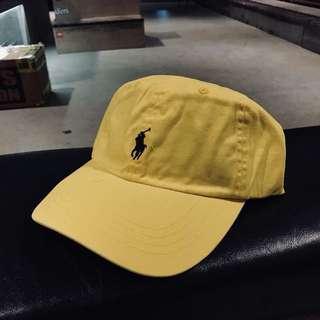 「polo」老帽 黃色