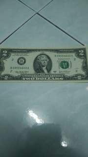 2 dollar Amerika