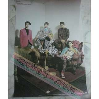 [READY STOCK]SHINee KOREA OFFICIAL POSTER 1PC SHIP USING TUBE (PRICE NOT INCLUDE POSTAGE)(PLEASE READ DETAILS FOR MORE INFO)