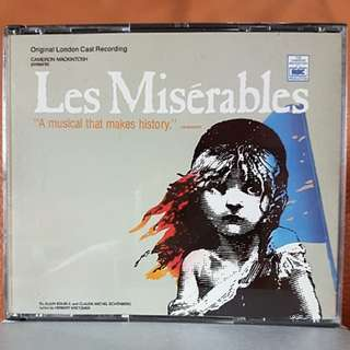 2CD》Les Miserables (Musical)