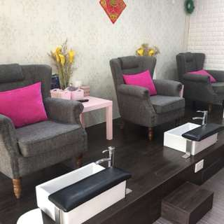 Nail Salon for Take-over