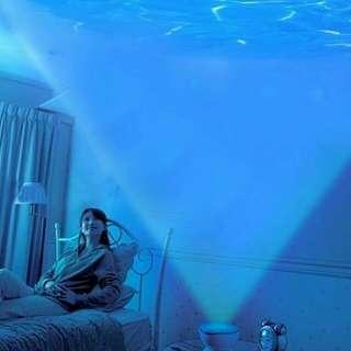 Daren Waves Romantic Projector Lamp Decoration(with Speaker)