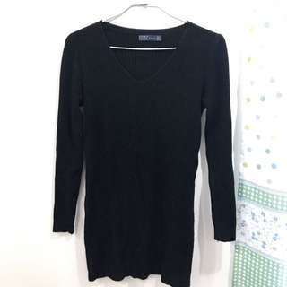 Zara 黑色 毛衣