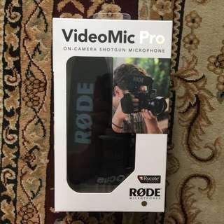 Rode Videomic Pro Clearance