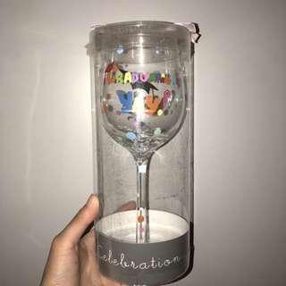 Graduation Trophy Glass