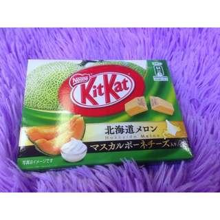 日本 北海道 限定 KitKat 蜜瓜味 Japan Hokkaido KitKat melon