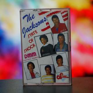 The Jacksons State of Shock Cassette
