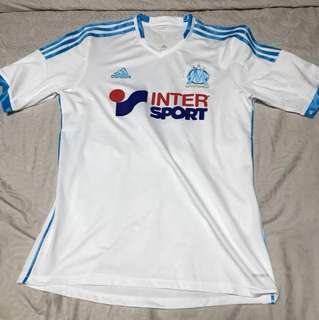 Adidas Olympic Marseille Soccer Jersey
