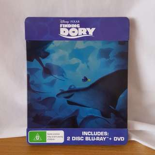 Finding Dory Steelbook Bluray & DVD