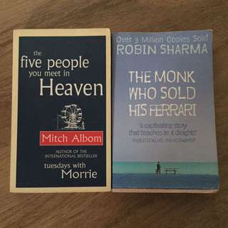 Five people you meet in heaven, The Monk who sold his Ferrari