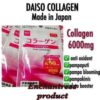 Daiso Collagen Tablet