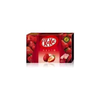 日本 九州 限定 KitKat 特級 草莓 Japan Kyushu KitKat Strawberry