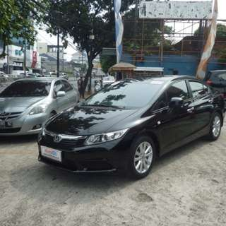 honda	civic all new (civic) automatic	2013