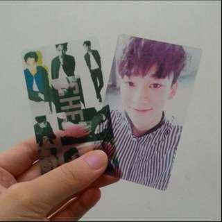 Customized Kpop transparent photocard