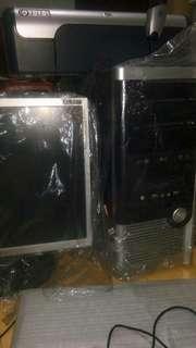 LG Full Computer Set with FREE HP PRINTER AND WEB CAMERA