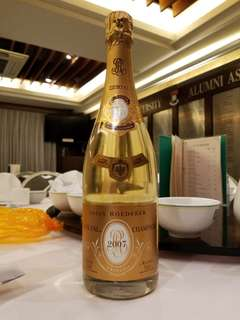 Louis Roederer Crystal champagne 2007