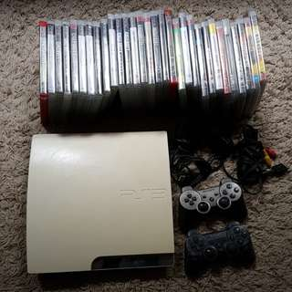 PS3 With 30 Original Games