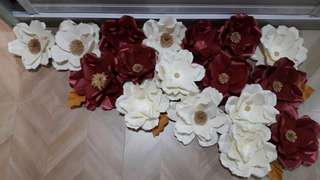 BUNGA3D / PAPER FLOWER FOR BACKDROP AND DECORATIONS