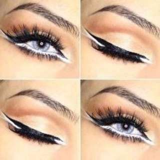 KISS BEAUTY WHITE MANIAC EYELINER