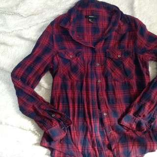 F21 flannel sleeves