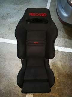 Authentic Recaro SR3 reclinable semi bucket seat
