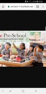 Looking For Ebridge Pre School Girl Uniform E-Bridge