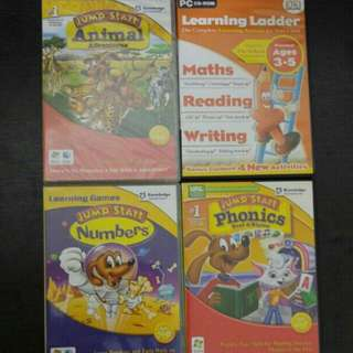 Blessing - PC CD Rom Kids Educational ( 3-5 years + 6-8 years )