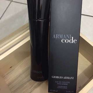 Parfume Armani code 100mL (segel)