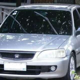Honda city th 2001 silver (kendaraan plat A) baru diperpanjang pajaknya