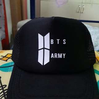 BTS and Army Cap