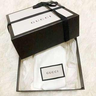 💯Authentic Gucci Ribbon Perfume Box Paper Bag