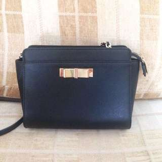 FREE POS Authentic Charles&Keith Bow Crossbody Sling Bag