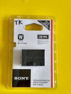 Original Sony NP-FW50 Lithium-Ion Rechargeable Battery (1020mAh)