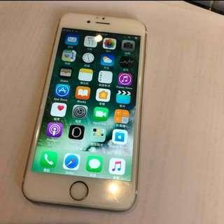 iPhone 6s 64gb 金色 2016年買嘅 無圓角 無暗位