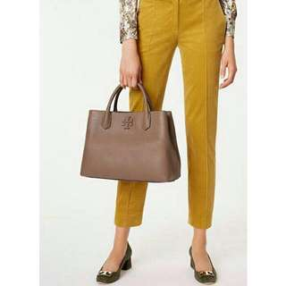 Ready authentic ori TORYBURCH mcgraw triple compartment tote