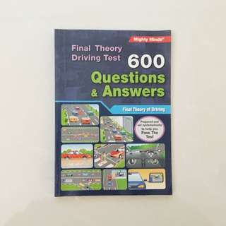 Final Theory Driving Test 600 Q&A
