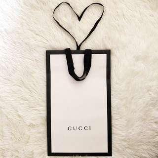 💯Authentic Gucci Paper Bag