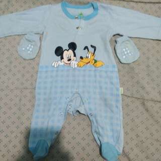 Disney Mickey Mouse Romper with mittens